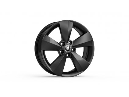 NANUQ 16 v metalické černé barvě pro vozidla Karoq 57A071496 FL8