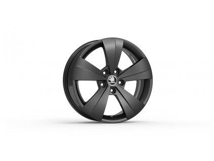 TRITON 17 v černé metalické barvě pro vozidla Superb III 3V0071497B FL8