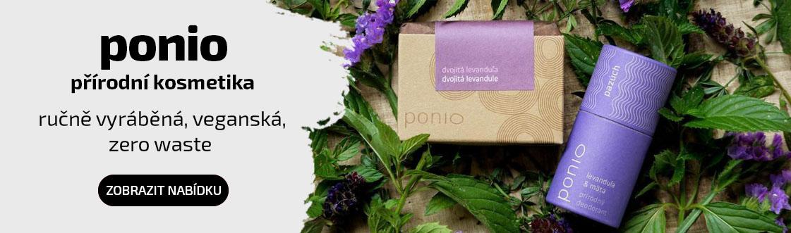 Přírodní kosmetika Ponio
