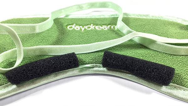 Daydream Aloe Vera Nature maska na oči na spaní zelená 2