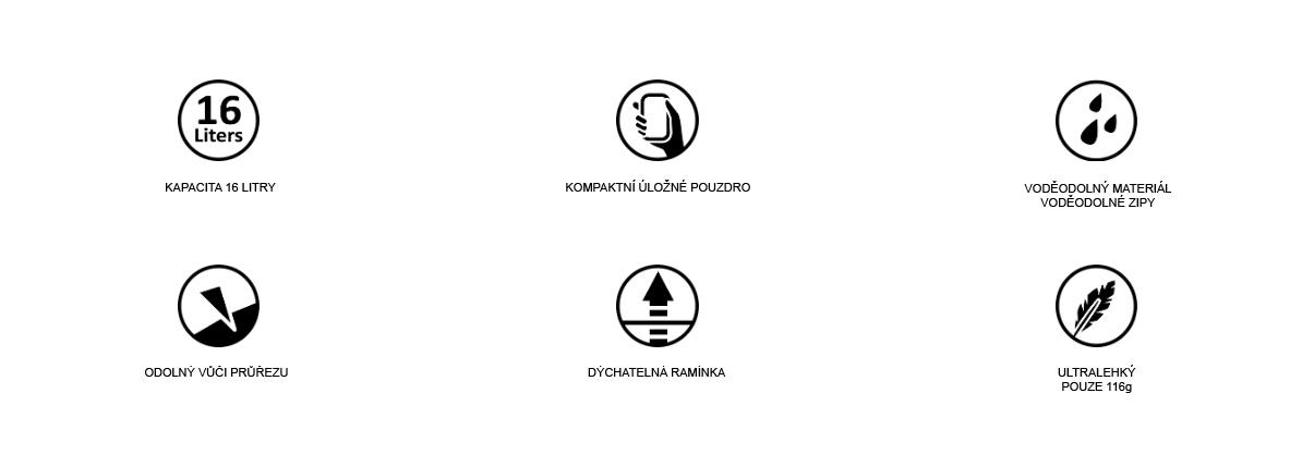 Klíčové vlastnosti DL16
