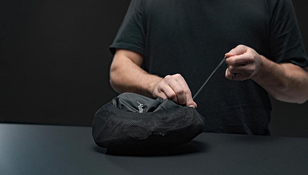 Matador Beast 18 skladací vodeodolný technický batoh uťahovanie