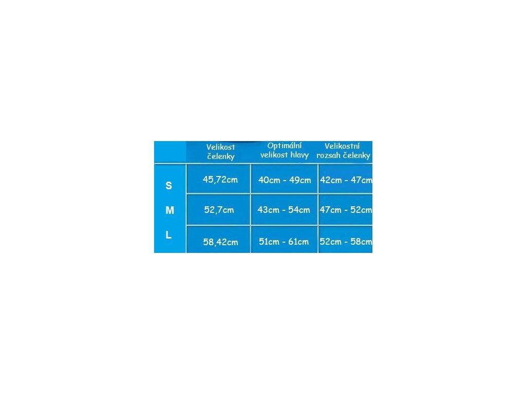 ... plavání 3 · Tabulka velikost čelenek Ear Band It Original 6653345ab4
