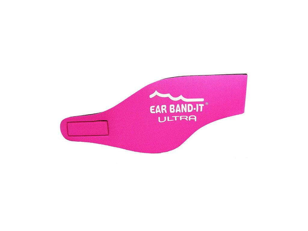258fa8e1867 Ear Band-It® Ultra Růžová Čelenka na plavání
