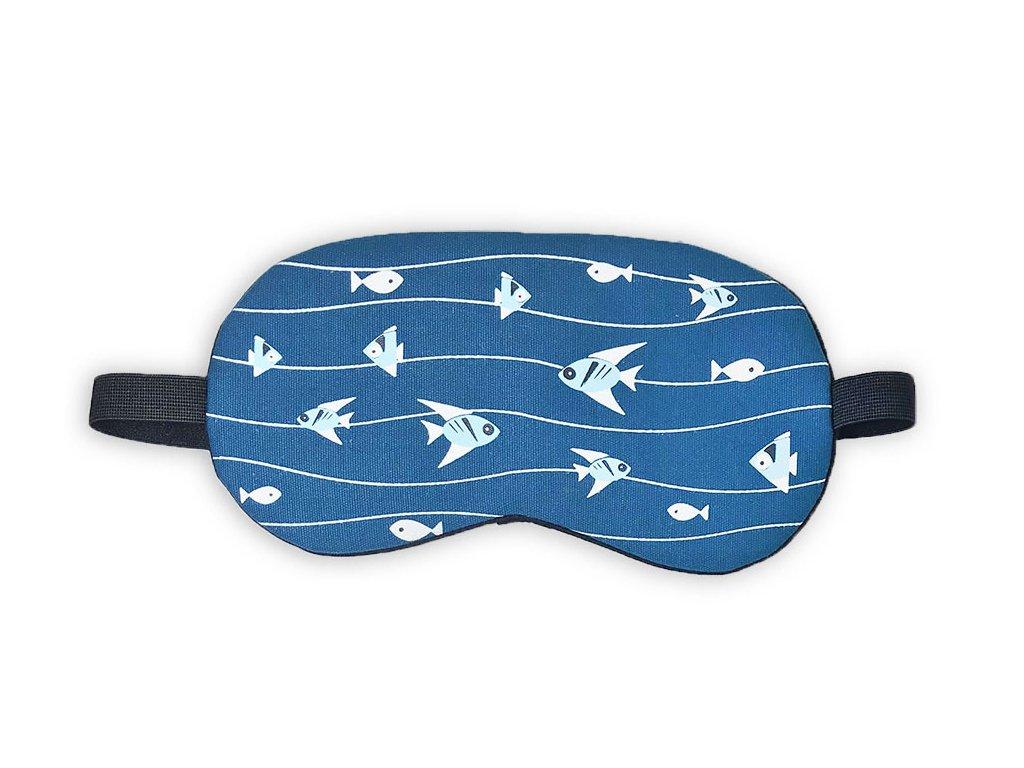 Maska na oči na spaní Ryby v moři