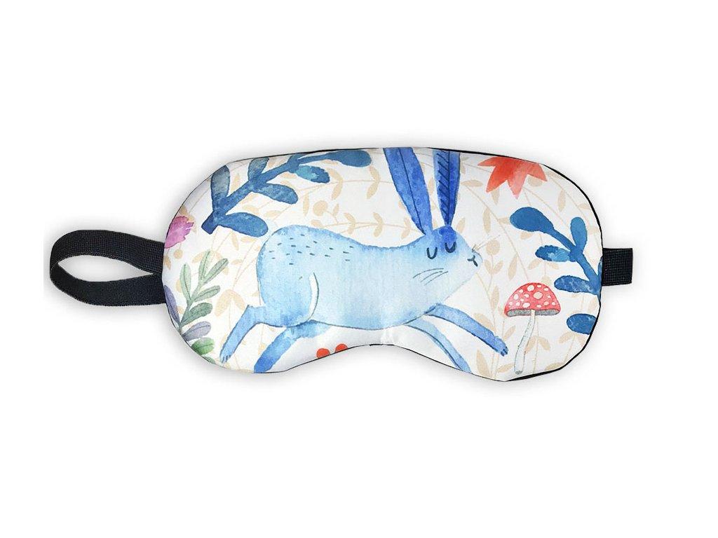 Maska na oči na spaní Zajíc