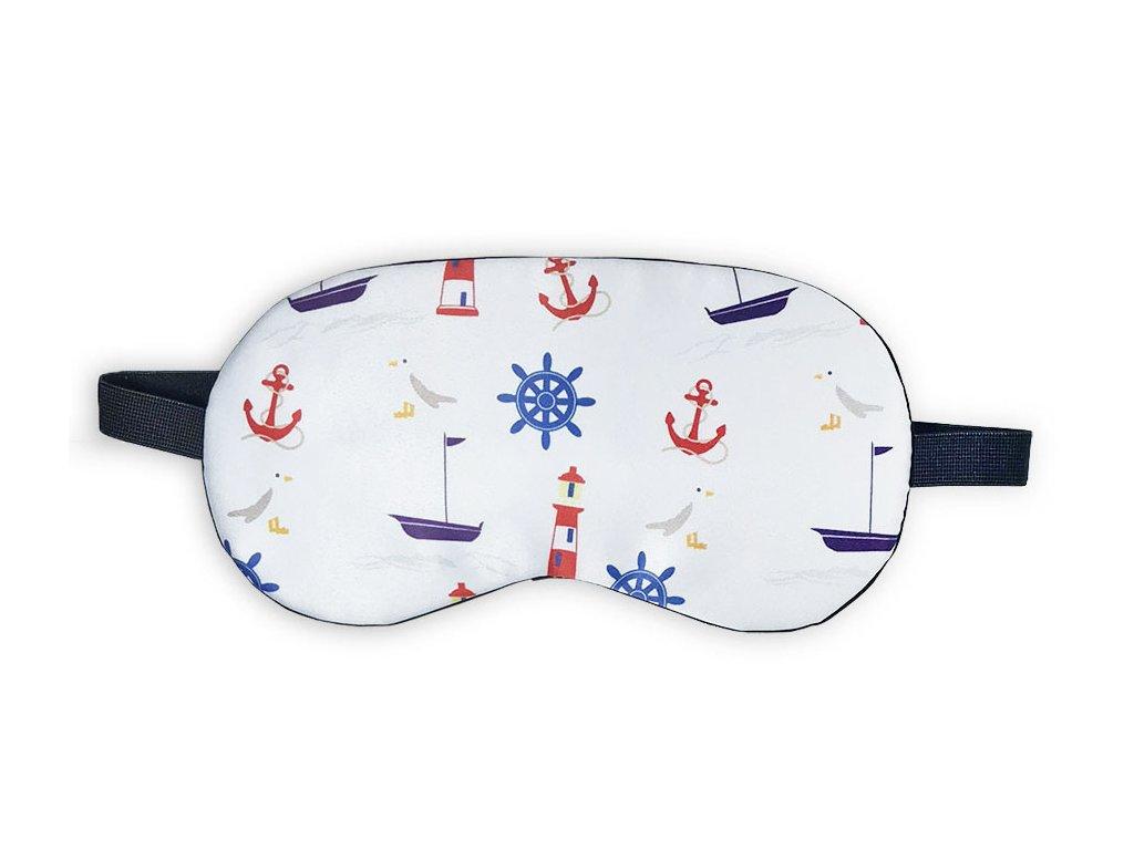 Maska na oči na spaní Námořní