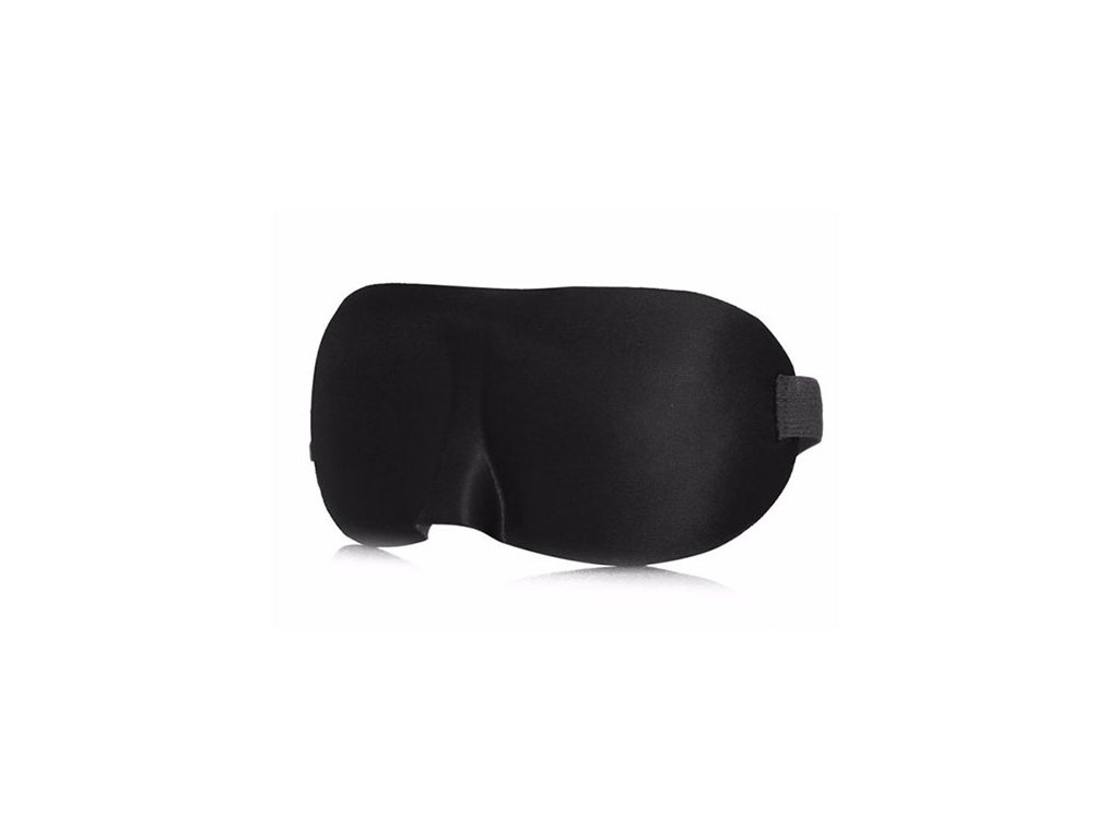 3D Černá Maska na oči na spaní Earplugs cz