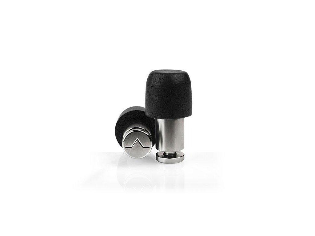 Špunty Isolate Mini Pro lesklý Titanium