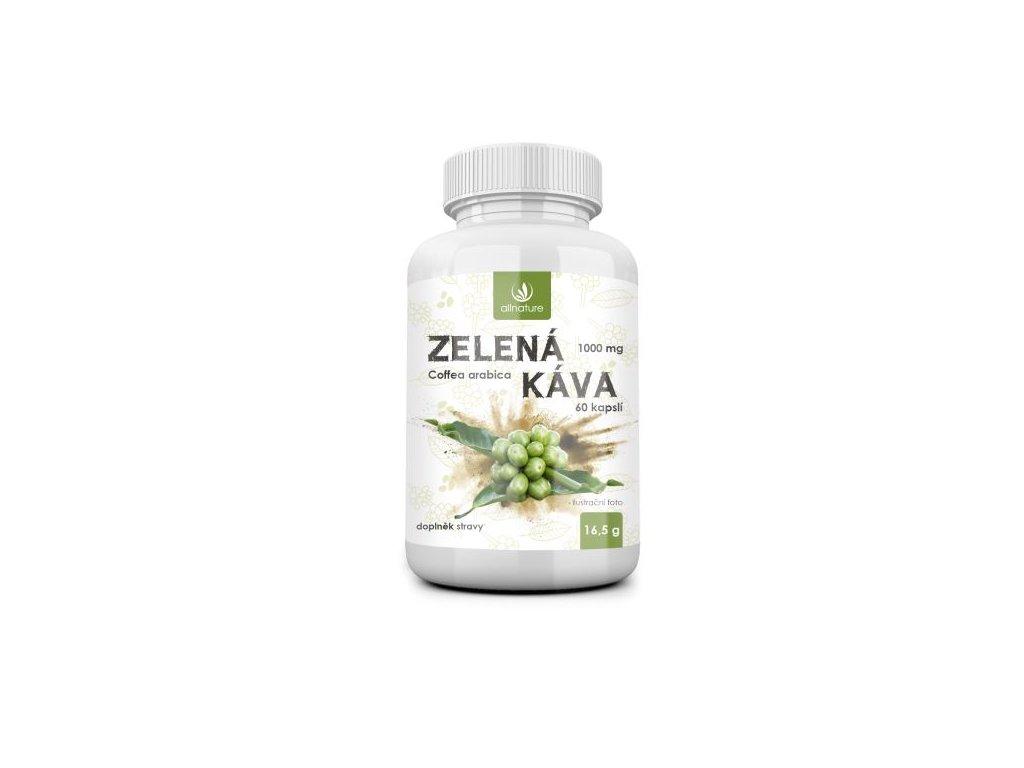 allnature zelena kava 1000 mg 60 cps