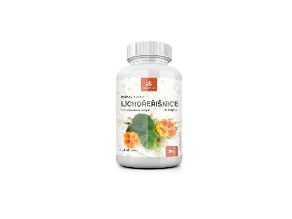 allnature lichorerisnice bylinny extrakt 60 cps