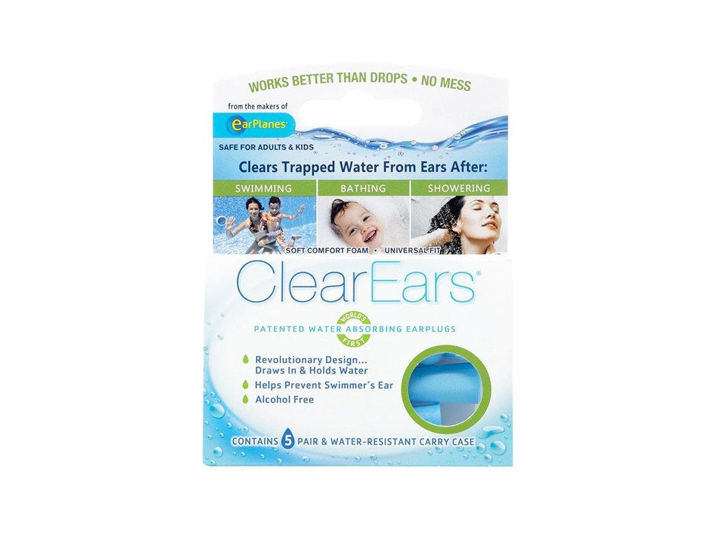 Cirrus ClearEars špunty do uší do vody nasávající vodu