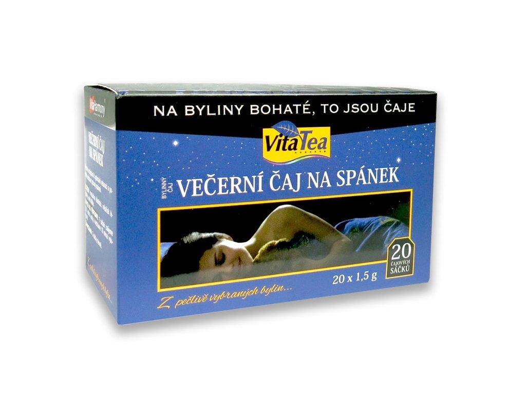 VitaTea večerní čaj na spánek 20 čajových sáčků
