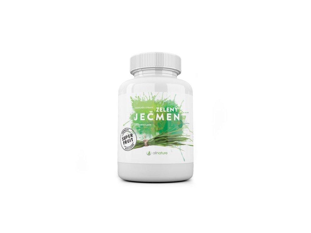 zeleny jecmen allnature 120 tbl