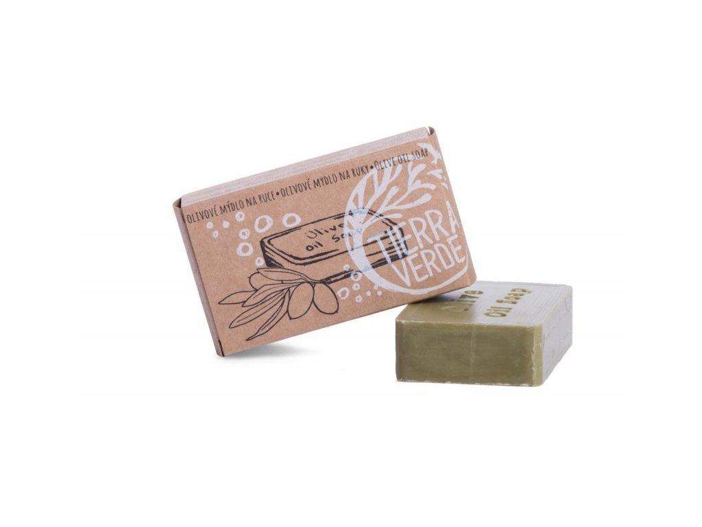 Mama Natura olivové mýdlo na ruce
