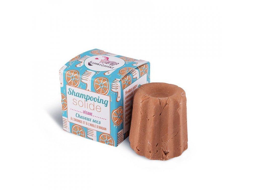 Lamazuna Tuhý šampon pro suché vlasy pomeranč (55 g)