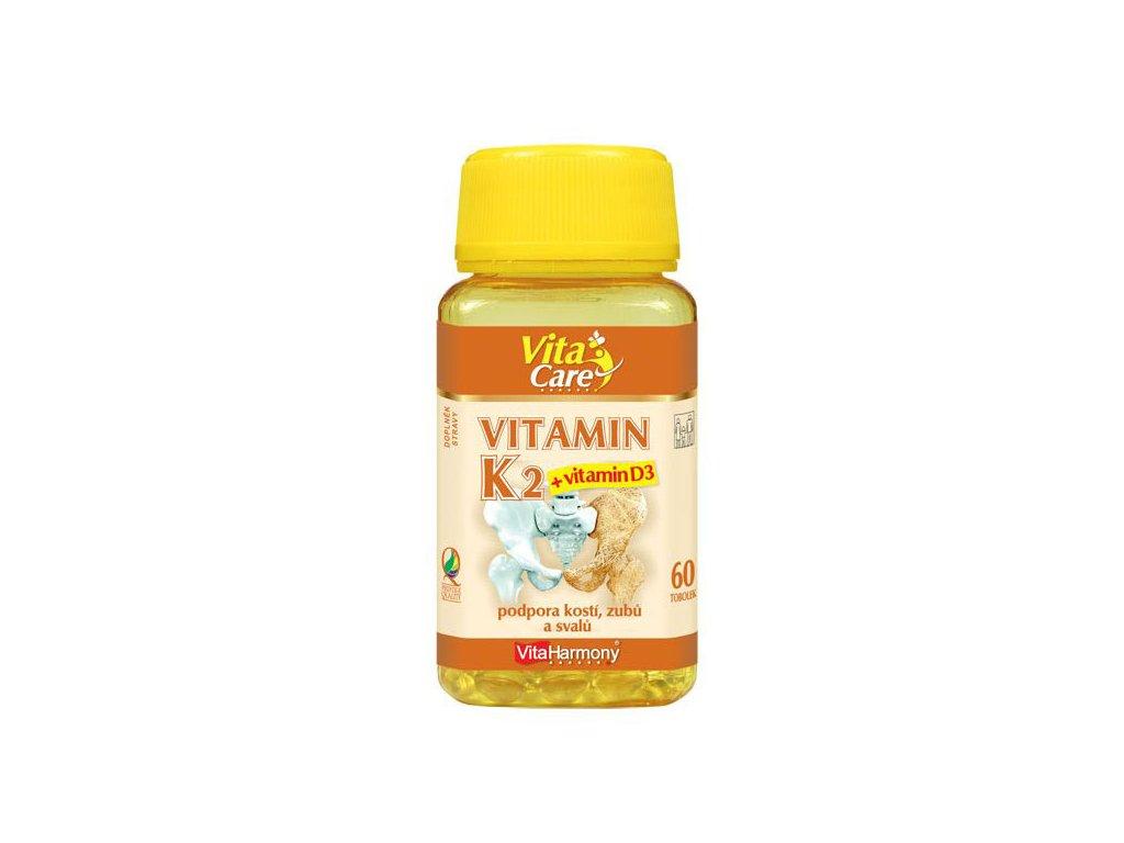 Vitamin K2 100 μg + D3 25 μg 60 tob.