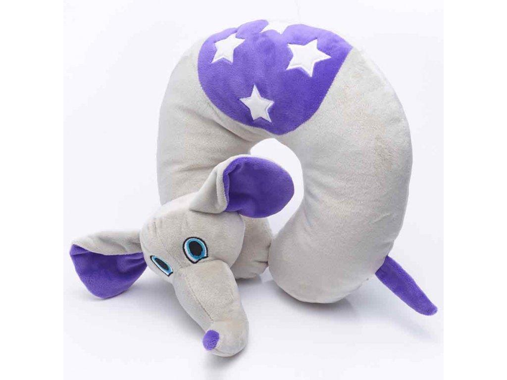 TravelBlue cestovní polštář pro děti Slon Flappy