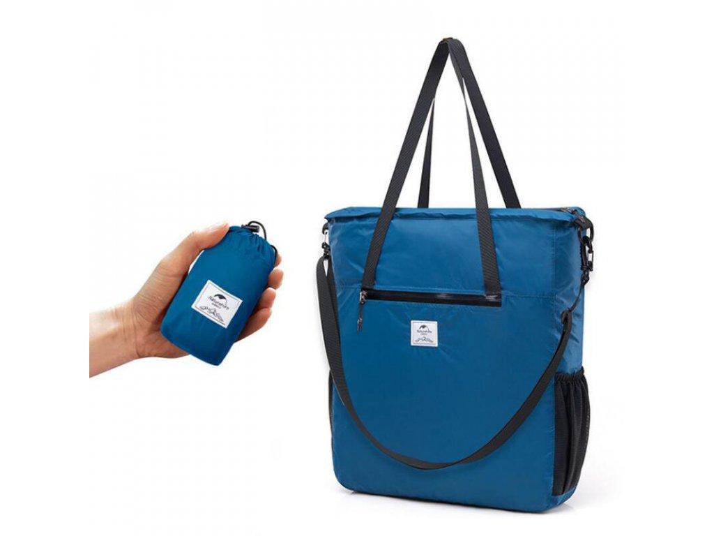 Skládací taška modrá