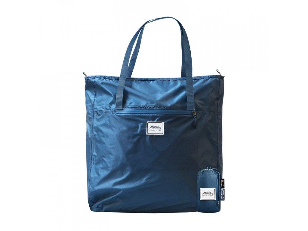 Matador skládací taška přes rameno Transit Tote modrá