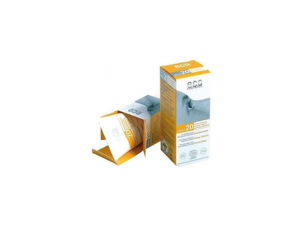 Eco Cosmetics Opalovací krém SPF 20 BIO (75 ml)