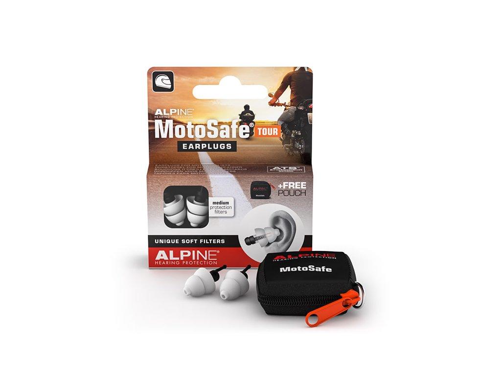 Alpine MotoSafe Tour Minigrip špunty do uší na moto