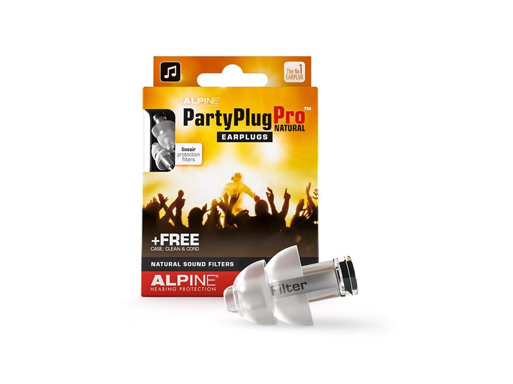 Špunty do uší na konzerty Alpine PartyPlug Pro