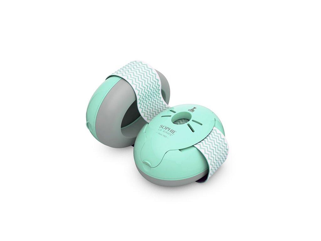 Alpine Muffy Baby Modrá Chrániče sluchu pro miminka Balení Earplugs cz