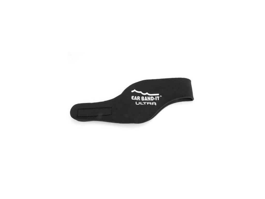 Ear Band It čelenky na plavání pro dospělé a děti černá