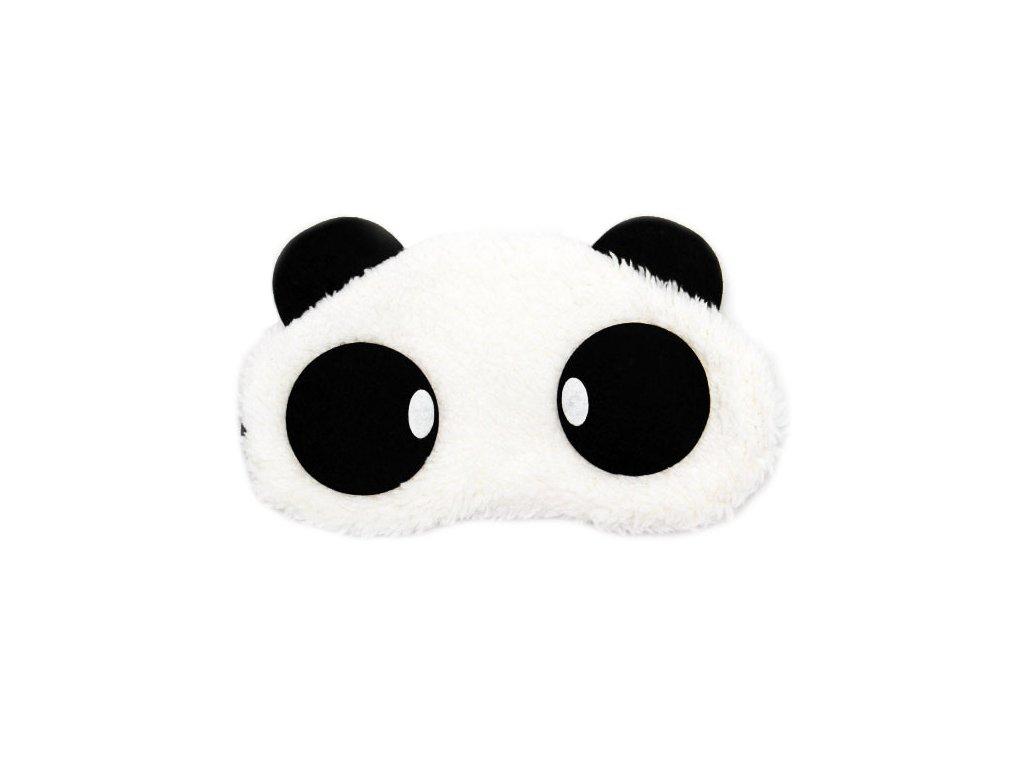 Panda Oval Maska na oči na spaní Earplugs cz