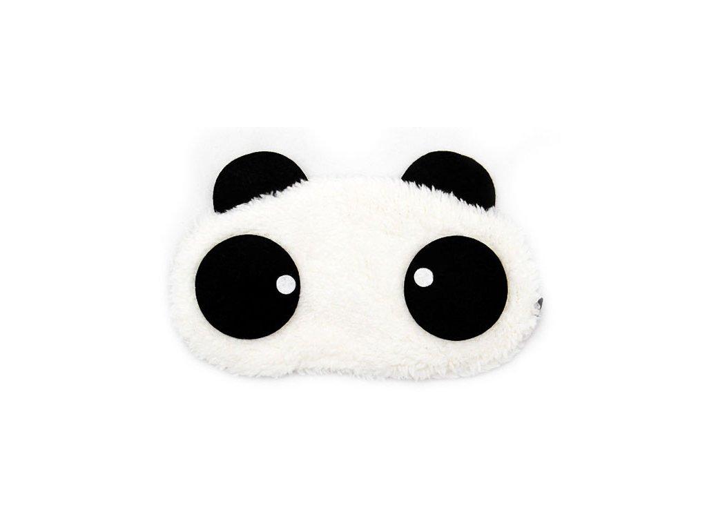 Panda Kolečko Maska na oči na spaní Earplugs cz