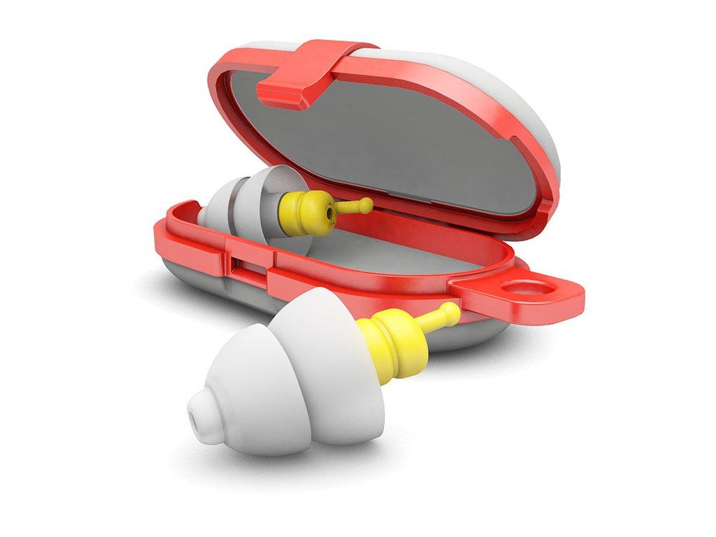 Špunty do uší do letadla Alpine Flyfit