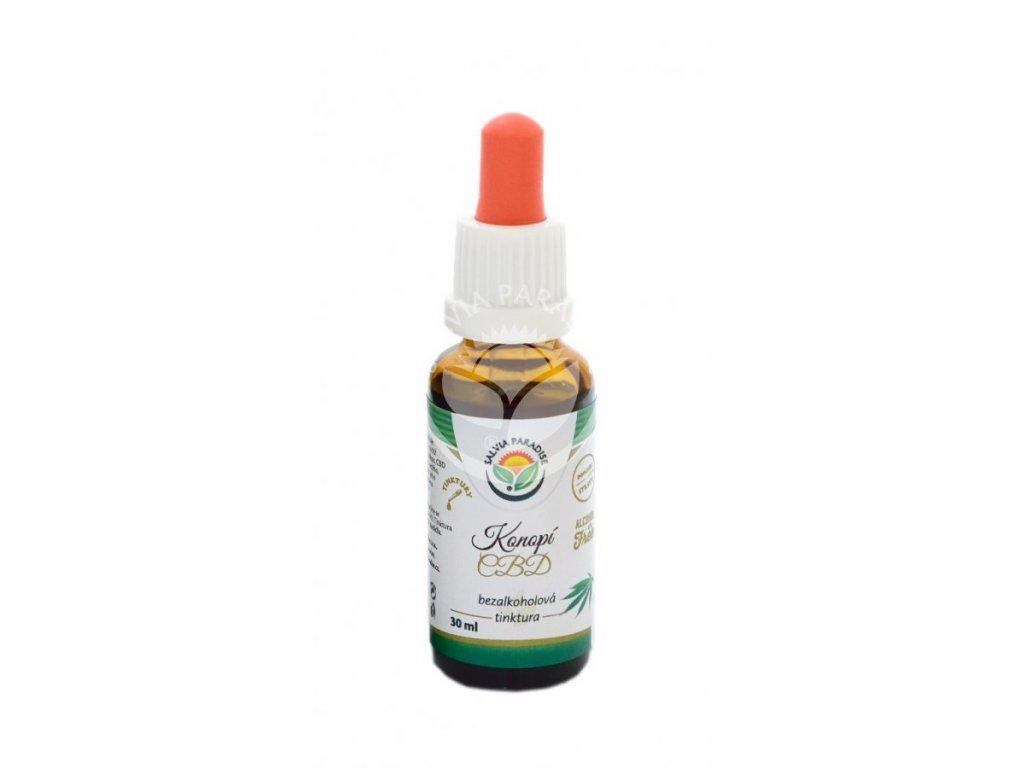 SalviaParadise Konopí CBD bezalkoholová tinktura 30ml