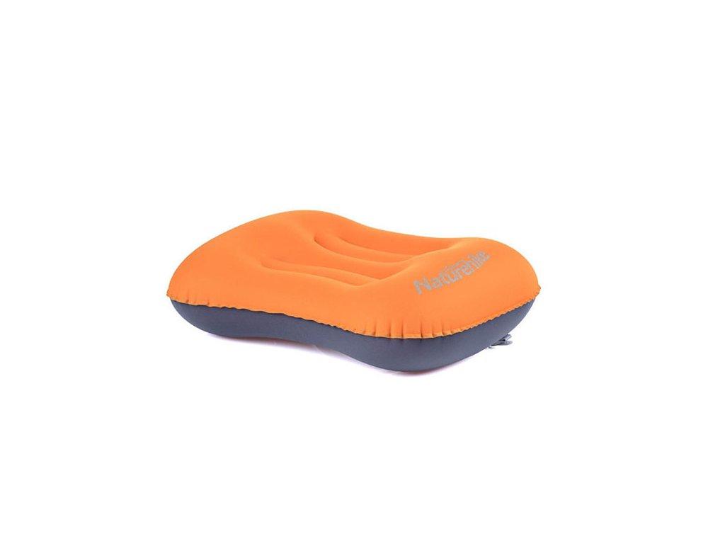 NatureHike Aeros Oranžový Cestovní polštář nafukovací Earplugs