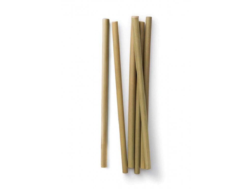 Bambusové brčko 1ks