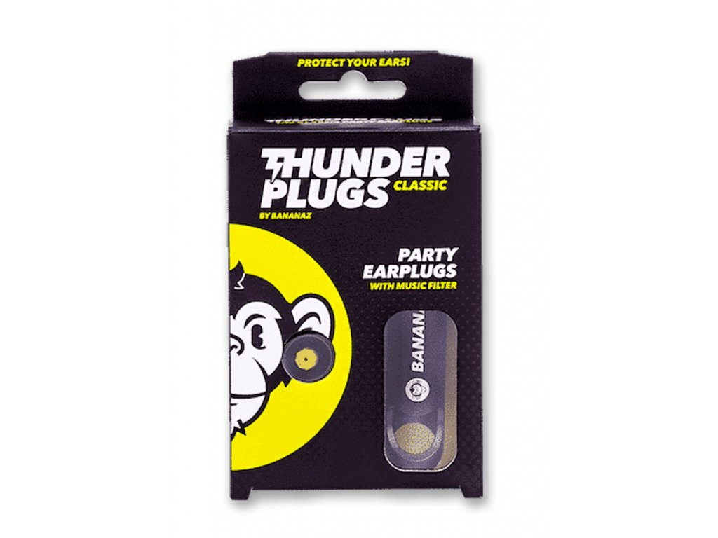 Bananaz Thunderplugs Classic Blister špunty do uší na párty