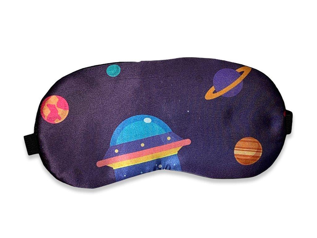 Maska na oči na spaní vesmír