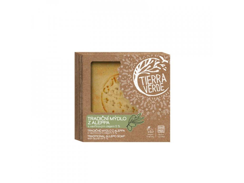 Tierra verde tradiční mýdlo z aleppa 190g