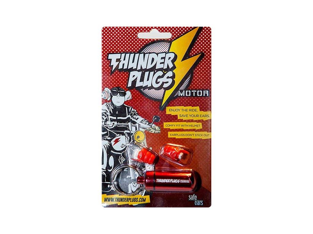 Thunderplugs Motorpack Špunty do uší na moto Earplugs