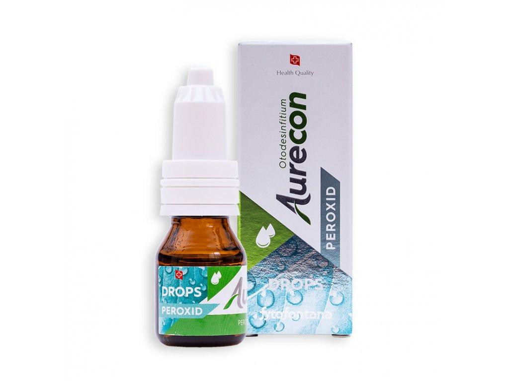 Fytofontana Aurecon Ušní kapky s peroxidem