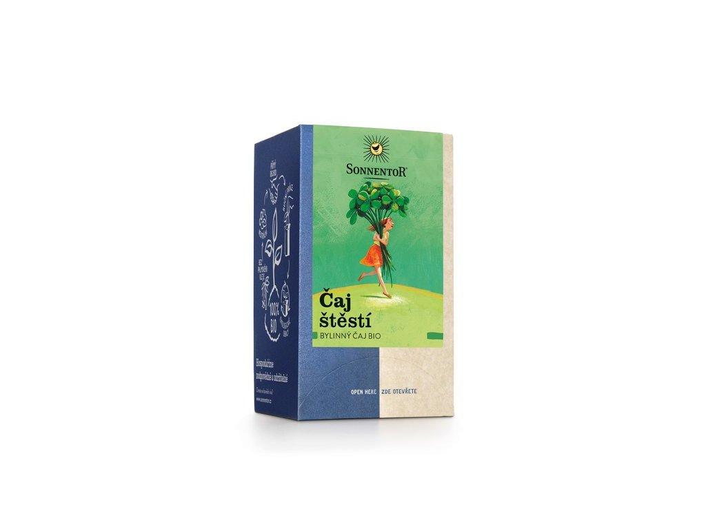 BIO porcovaný čaj Sonnentor Čaj štěstí
