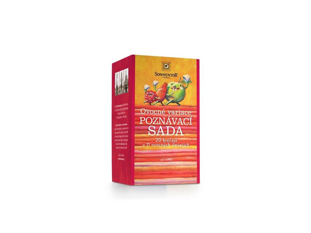 BIO porcovaný čaj Sonnentor Ovocná variace poznávací sada