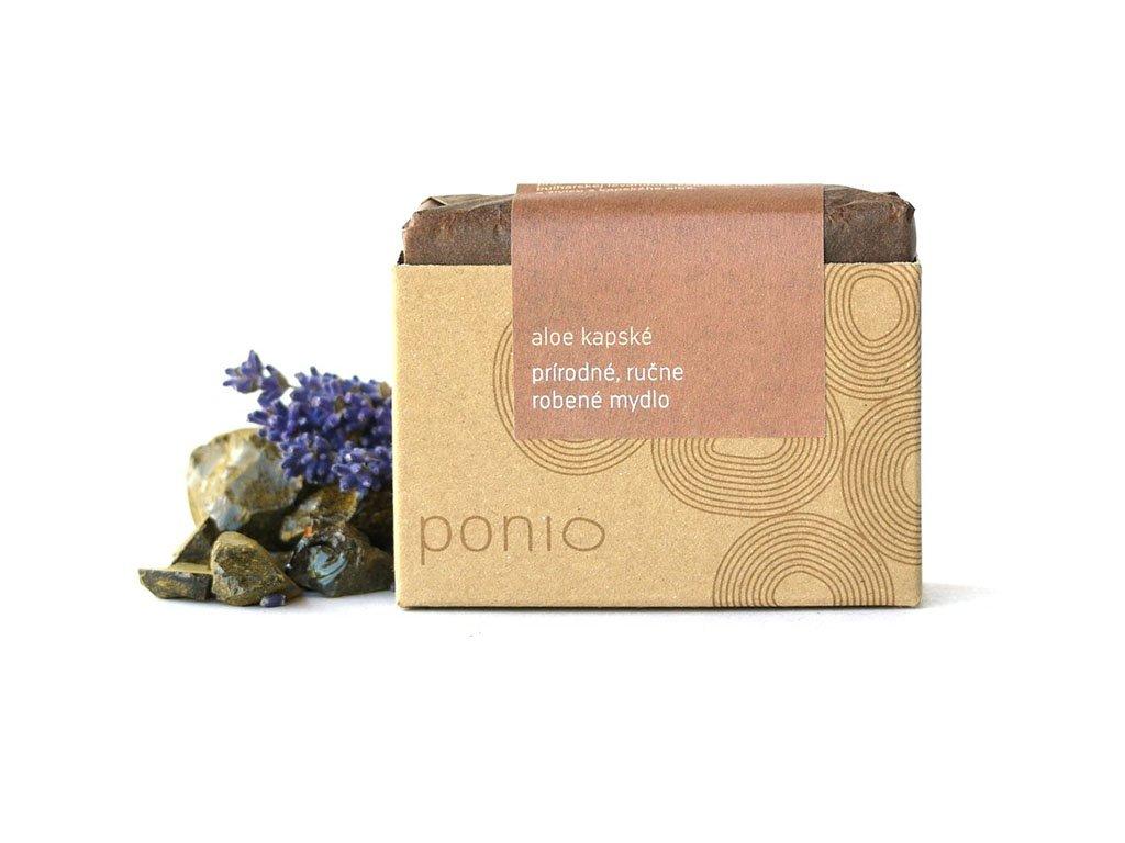 Ponio aloe kapské přírodní tuhé mýdlo produktové foto