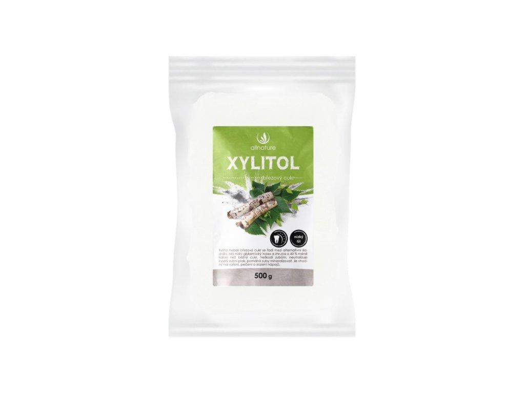 allnature xylitol brezovy cukr 500 g