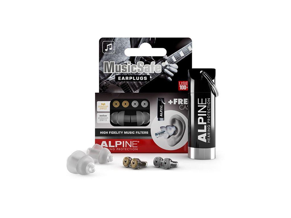 Alpine MusicSafe Classic  Špunty do uší pro muzikanty