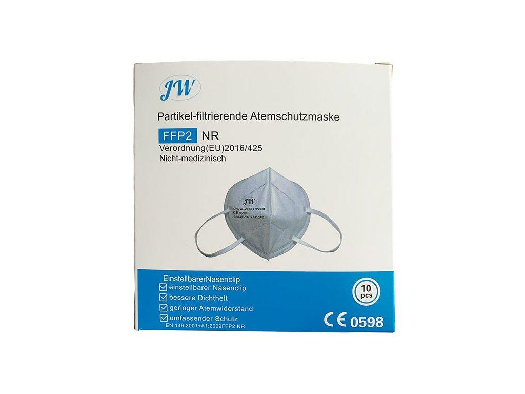 Respirátor FFP2 individuálně balený NR 10 ks
