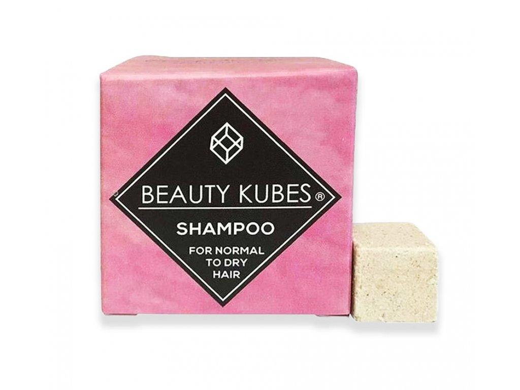 Beauty Kubes tuhý šampon pro normální až suché vlasy 100g