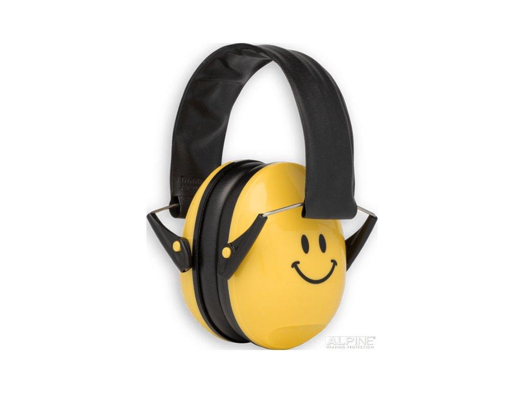 Alpine Muffy Smile Chrániče sluchu pro děti sluchátka Earplugs cz