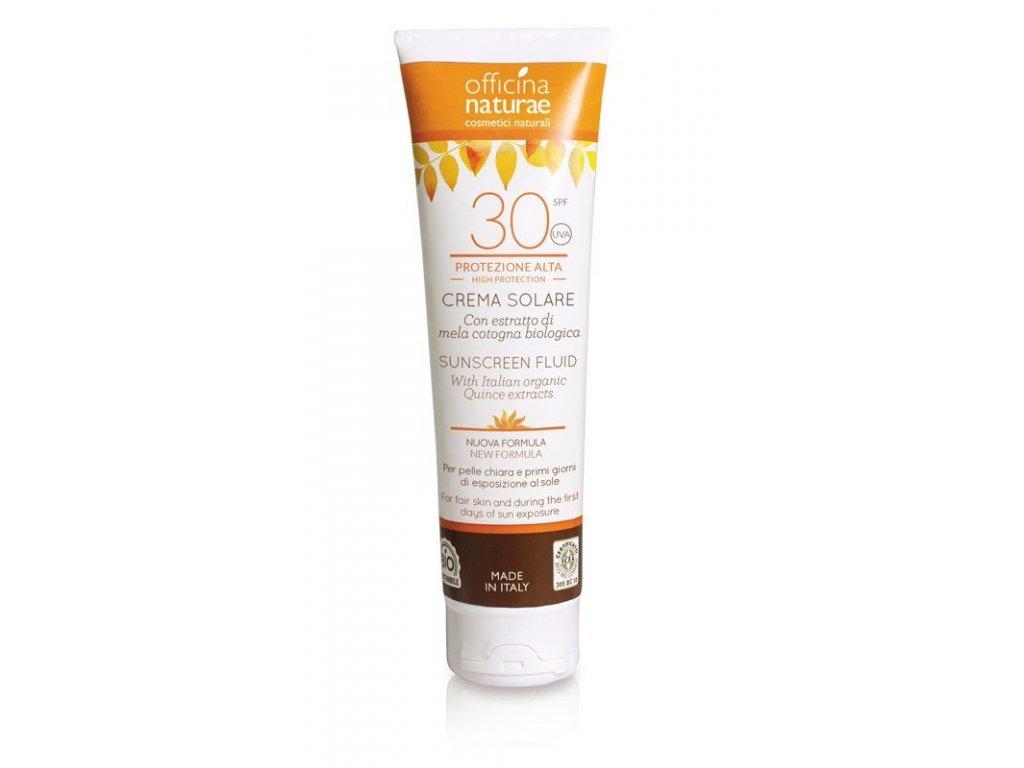 Officina Naturae Opalovací krém bez parfemace SPF 30 BIO (125ml)