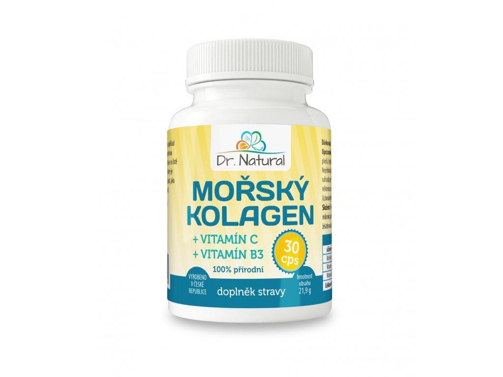 Mořský kolagen vitamín C a B3 30 tablet
